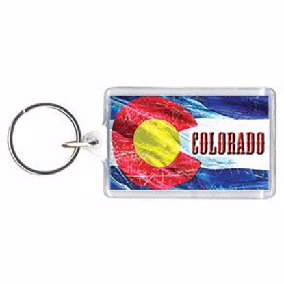 Picture of Acrylic Key Tag - 1 x 2""