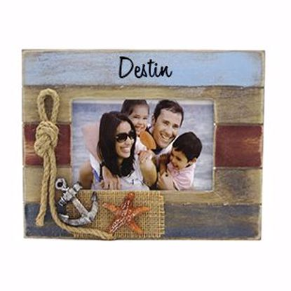 "Picture of Frame 4""x6"" Wood w Decor"