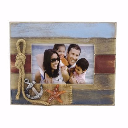 Picture of Frame Imp 5x3.5 Wood w Decor