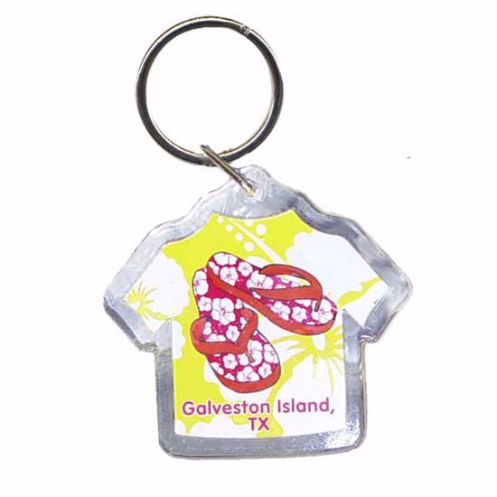"""Picture of Acrylic Key Tag -2 x 2.25"""""""