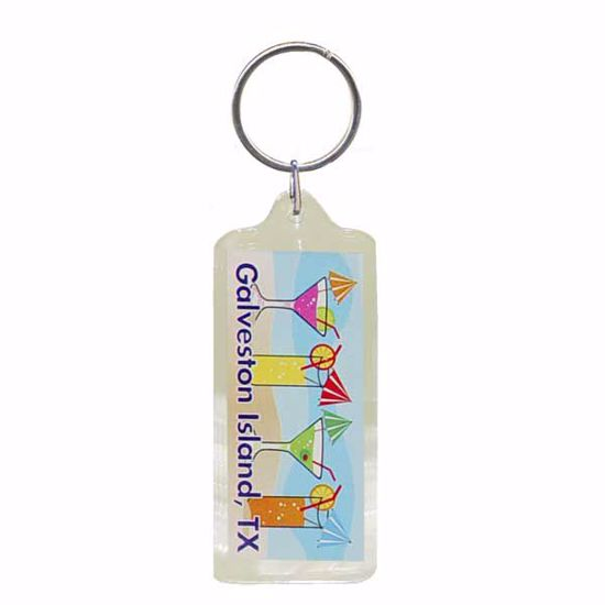 """Picture of Acrylic KeyTag-1.25 x 2.25"""""""