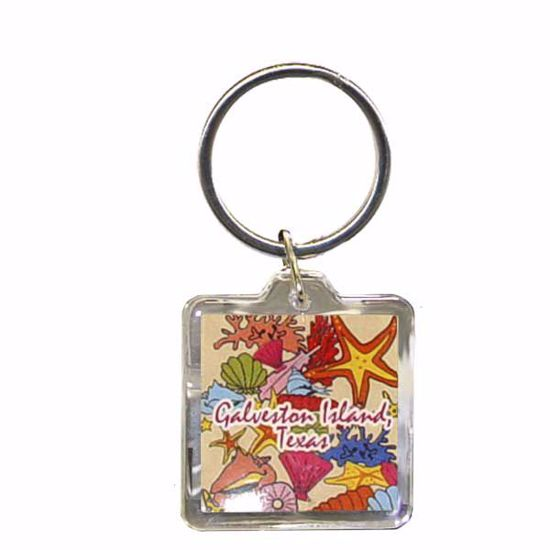 """Picture of Acrylic Key Tag -1.5 x 1.5"""""""