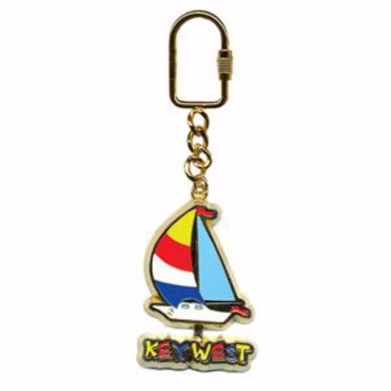Picture of Enamel Key Tag w/moving icon