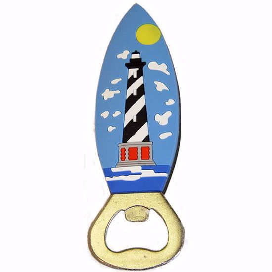 Picture of Rubber Bottle Opener w/Magnet