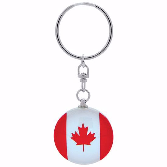Picture of Keytag Glass Round