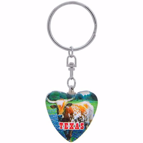 Picture of Keytag Glass Heart