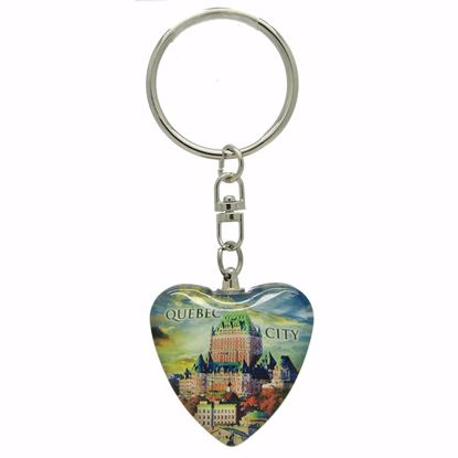 Picture of Keytags Glass Heart