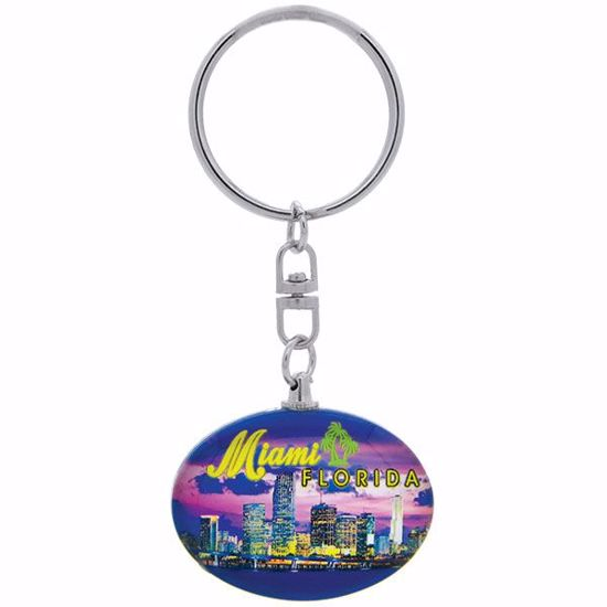 Picture of Keytag Glass Oval