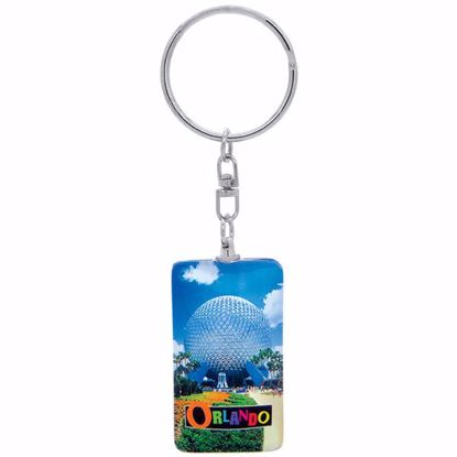 Picture of Keytag Glass Rectangle