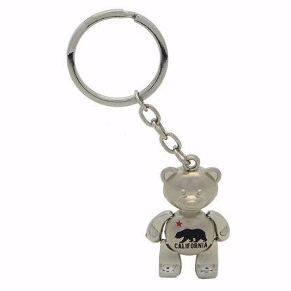 """Picture of Metal Key Tag - 1 x 1.5"""""""