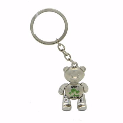 Picture of Metal Key Tag - 1 x 1.5""