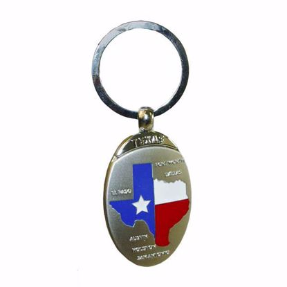 Picture of Brushed Pewter Key Tag
