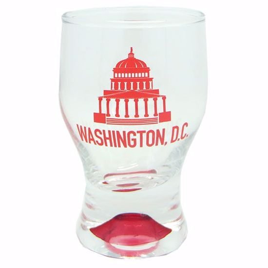 Picture of Shots Footed glass