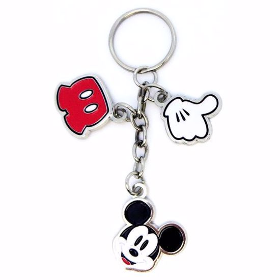 Picture of Metal Key Tag w/Multi Charms