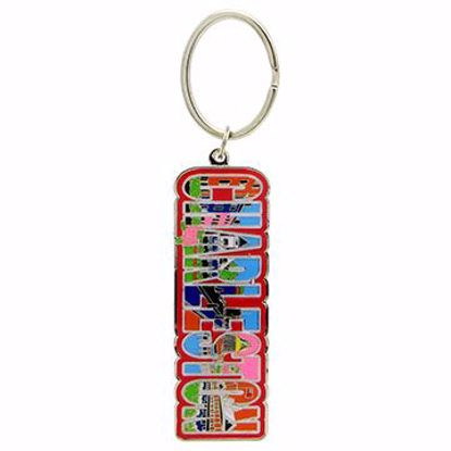Picture of Metal/Enamel Key Tag 6 Color
