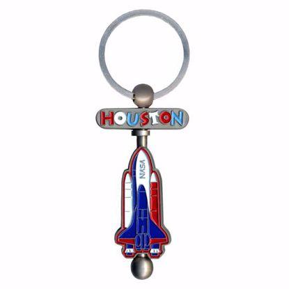 Picture of Swivel Key Tag - Enamel w/Rod