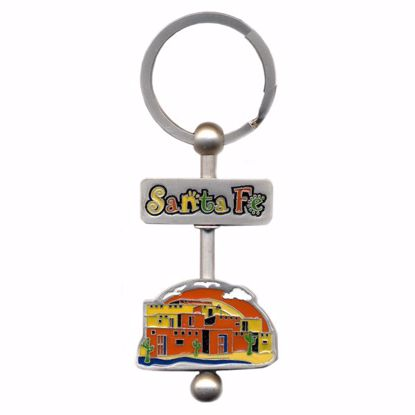 Picture of Swivel Key Tag - Enamel w/Rod