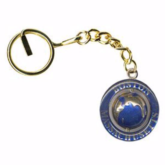 Picture of Gold Swivel Key Tag