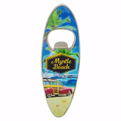 Picture of Magnet Surf Board Shape Opener