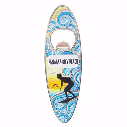 Picture of Magnet Surf Board Shape Opener