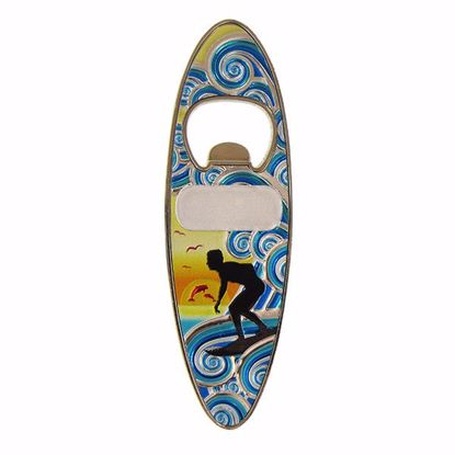 Picture of Magnets Surfboard Shape Opener