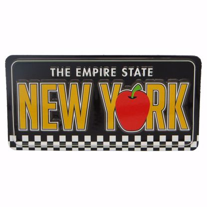 Picture of Magnets License Plate
