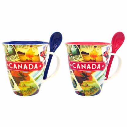 Picture of Mug w/Spoon 26 - 16oz