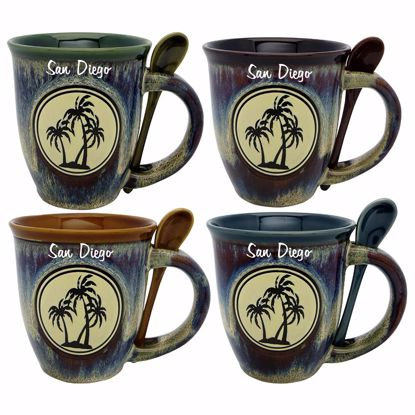 Picture of Mug Emb Icon w Sp - 18oz