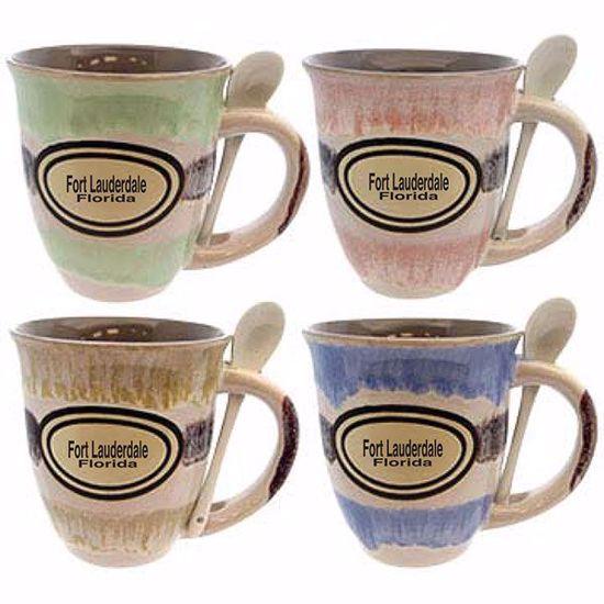 Picture of Mugs 18z Ceramic Trumpet w Spn