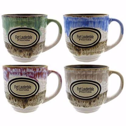 Picture of Mugs 22oz Ridged Ceramic