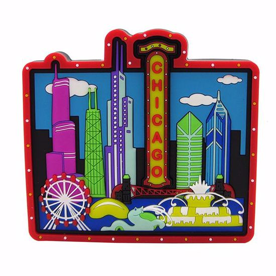 """Picture of Rubber Art Magnet - 3 x 3.5"""""""