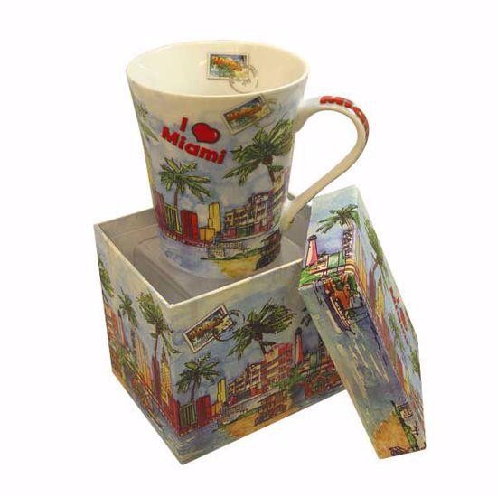 Picture of Porcelain Mug w/Box - 14oz
