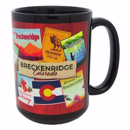 Picture of Mug Dye Sub 15oz - Black