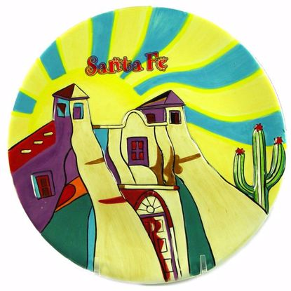 Picture of Hand Painted Plate  - 7""