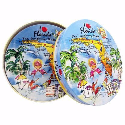 Picture of Plates 8` Porcelain in Box