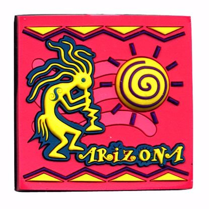 Picture of Rubber Art Magnet-1.5 x 1.5""