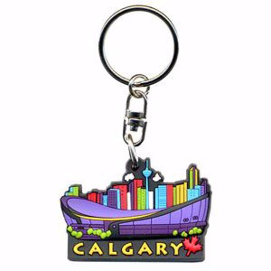 Picture of Rubber Key Tag - 1.25 x 1.75""