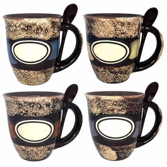 Picture of Mugs with Spoon 18oz