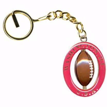 Picture of Gold Swivel Key Chains