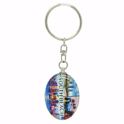 Picture of Keytags Glass Oval