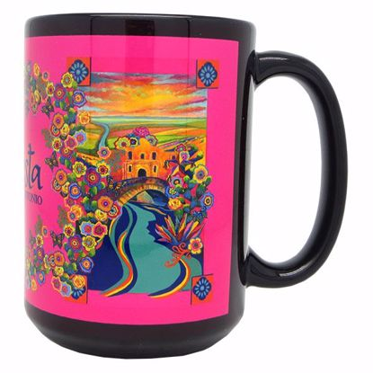 Picture of Mug Dye Sub 15z Blk