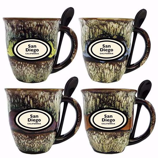 Picture of Mugs 18 oz. w Spoon