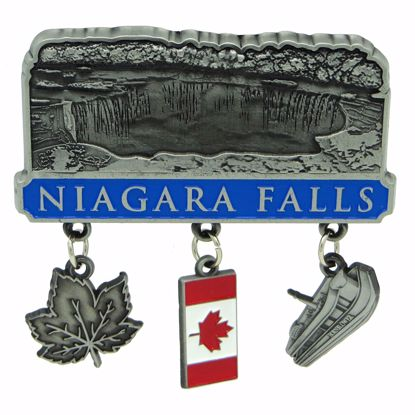 Picture of Magnets Pewter Dangle