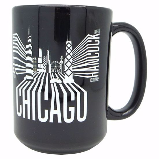 Picture of Mugs Dye Sub 15z Blk